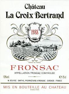 """Résultat de recherche d'images pour """"etiquettes vin bordeaux"""""""