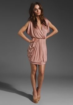 I NEED to find something i can wear this dress to, and paired with the nude heels?? to DIE.