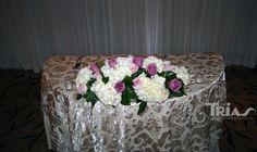 0025 #sweethearttable #triasflowers #weddings #events #flowers #elegant #miami www.triasevents.com