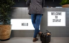 StayAt – Wayfinding & Branded Environment on Behance