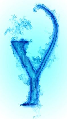 Alphabet, Blue Wallpapers, Free Downloads, App Store, Mists, Clouds, Ice, Water, Alpha Bet