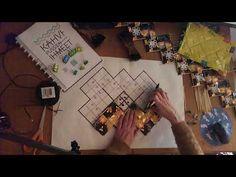 1. Sik-sak -kassin Opetustuokio, punotaan kahvipusseista kassin pohja - YouTube Paper Weaving, Candy Wrappers, Visio, Upcycle, Frame, Youtube, Crafts, Bag, Amor