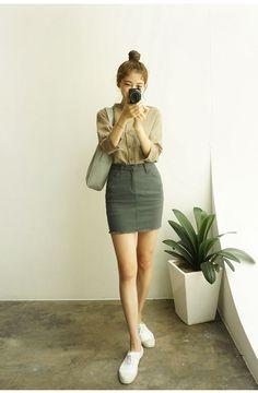 chuu_츄 - 츄(chuu) | 도착 5분전 skirt | skirt
