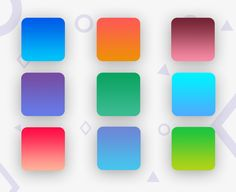 """Check out my @Behance project: """"2 Color Gradients"""" https://www.behance.net/gallery/54750597/2-Color-Gradients"""