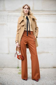 Timeless outfit, fit for the front row of Fashion Week!