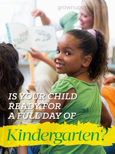 Make the transition to full-day kindergarten exciting and anxiety-free by helping your children develop specific skills at home.