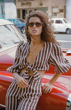- don't look now! - Cuban Style Inspiration Comes To Life In This Faithfull The Brand Collection Fashion 2020, New Fashion, Boho Fashion, Fashion Beauty, Fashion Outfits, Womens Fashion, Cuban Women, Faithfull The Brand, Brand Collection