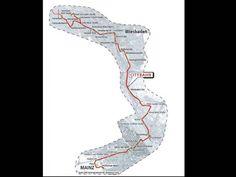 Die Route einer Citybahn würde an die Mainzelbahn-Strecke in Mainz anknüpfen. Der Streckenverlauf auf der Karte soll laut der Ausschreibungsunterlagen von Eswe-Versorgung Gegenstand einer vertiefenden Untersuchung sein.