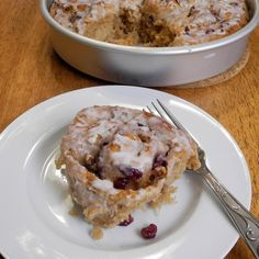 Cranberry Nut Rolls - http://www.fromcalculustocupcakes.com/884/