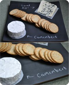 This post would be a great time to make some witty quip about chalk and cheese, but unfortunately I'm not the witty quip type....
