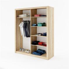 Šatní skříň IDEA - Sconto Nábytek