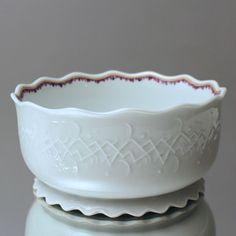Meissen: große Schale nach Max Esser, Art Déco, Obstschale, Art Deco, handmade, rare, bowl, G215