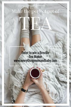 The Breville Tea Maker comes fully programmable for all types of tea, water temperatures, and steep times. The moving tea basket allows water to circulate freely around the individual tea leaves for maximum infusion. Set the timer and wake up to the aroma of your favourite tea and relax and start the day off perfectly. Enter to win one on : www.everythingmomandbaby.com