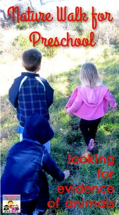 A Quick Nature Walk for your neighborhood #naturestudy #getoutside #preschool #naturewalk