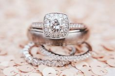 every last detail | wedding inspiration | the rings | engagement ring | wedding bands | ring photography