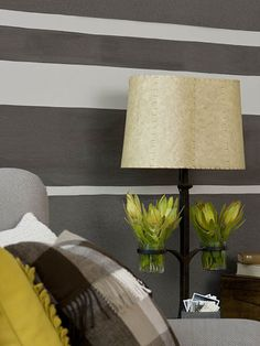 Bedroom Paint Ideas Stripes the yellow cape cod: super smart way to paint stripespaint over