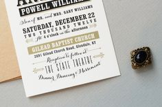 Invitations and Typography Typography invitation
