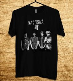 5 Seconds Of Summer Shirt New 5SOS Shirt  T Shirt Men by MalaAkfa, $18.00
