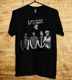 5 Seconds Of Summer Shirt New 5SOS Shirt  T Shirt Men by MalaAkfa, $18.00