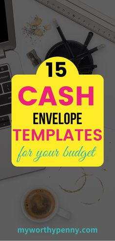 Use these cash envelope templates to help you in your budgeting. Envelope Budget System, Cash Envelope System, Budget Envelopes, Cash Envelopes, Budgeting System, Budgeting Tips, Frugal Tips, Frugal Recipes, Money Saving Challenge
