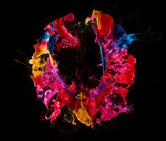 Liquid Jewel by Fabian Oefner, via Behance