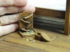 Doll House Dollshouse Miniatures Artisan Victorian Style Toy Marble Game…