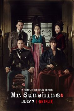 Upcoming K-drama Mr. Sunshine will premiere exclusively on Netflix starting July with episodes streaming on the same day of its Korean broadcast in the U. and Asian territories excluding Korea. Jung So Min, Drama Korea, Drama Film, Drama Movies, Drama Drama, Best Historical Dramas, Historical Romance, Kdrama, Byun Yo Han