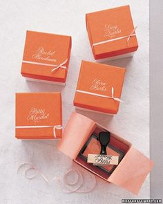 Custom Rubber Stamps-Bridesmaid Gift Ideas For The Ladies In Your Wedding Party | Martha Stewart Weddings