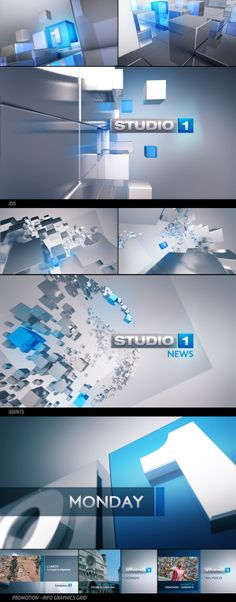Studio 1 by Angelsign Studio, via Behance