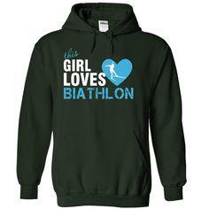 This girl loves Biathlon