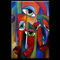 abstract 397 2436 Original Abstract Art Move Along