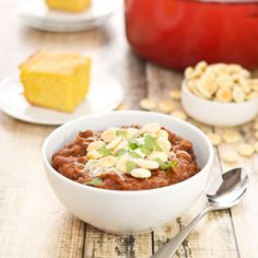 It never fails, as soon as the first flake of snow falls from the sky, we start craving chili around here. There's something so satisfying about chili that makes everything better. Whether it's bee...