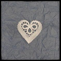 Heart bobbin lace, Slovenian lace, Idrija bobbin lace, pillow lace by CraftyKaja on Etsy Bobbin Lace Patterns, Lacemaking, Lace Heart, Lace Jewelry, Tatting Lace, Needle Lace, Simple Art, Lace Design, Lace Detail