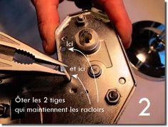 Démontage et remontage d'une machine à pâte Imperia Personalized Items
