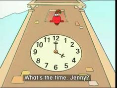 gogo 10 What's the time, please? Magic English, Telling Time, Learn English, Grammar, Cartoon, Education, Learning, Children, Videos