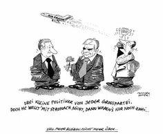 """OÖN-Karikatur vom 5. Oktober 2013: """"Viel mehr bleiben nicht mehr über"""" (Bild: Mayerhofer)"""