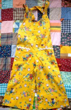 Handmade 70s Overalls 2/3 by lishyloo on Etsy, $15.00