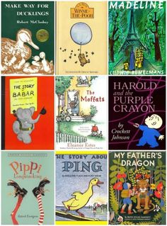 Classic kids books that celebrate adventure and the Spring season -- Every child should read these stories!