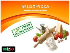 Processed foods can affect your health, reason why we always to use fresh ingredients when cooking. Experience yourself! Place your order, visit our website: www.briziopizza.com