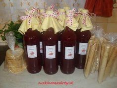 malinový nevarený sirup Canning, Drinks, Bottle, Rose, Syrup, Drinking, Beverages, Pink, Flask