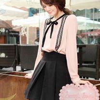 Sweet + Classical A-Line Skirt