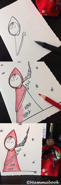 Mammabook: Le nostre damine, in collaborazione con Pupillae Art Dolls – Ladies and birds gift sets