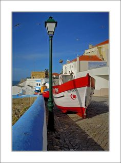 Fishing boat in Ericeira -, Lisboa Portugal Visit Portugal, Portugal Travel, Ericeira Portugal, Sintra Portugal, The Beautiful Country, Beautiful Places, Spring Break 2018, Portugal Holidays, Costa
