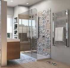 Da vasca a doccia: un bagno nuovo su misura - Bathroom Styling, Bathroom Interior Design, Interior Design Living Room, Modern Bathroom, Small Bathroom, Bathroom Bath, Remodel Bathroom, Casa Mix, Bathroom Inspiration