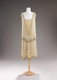 Evening Dress    Edward Molyneux, 1929    The Metropolitan Museum of Art