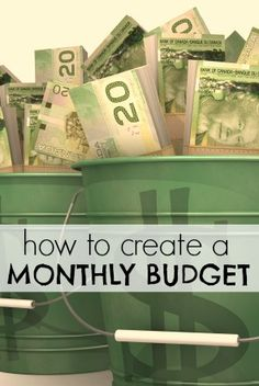How To Create A Monthly Budget. #frugal #frugalliving #blog http://www.mrsjanuary.com/