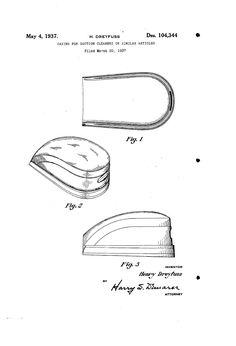 Hoover vacuum Model 25 Bakelite hood design by Henry Dreyfuss.