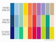My Spring 2014 Colors | Brandi Girl Blog