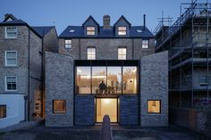 Semi Detached - Oxford, UK :: Projects :: Delvendahl Martin Architects