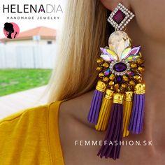 NOVINKA! handmade náušnice HelenaDia- Nerissa  http://femmefashion.sk/helenadia/2986-nausnice-helenadia-nerissa-.html